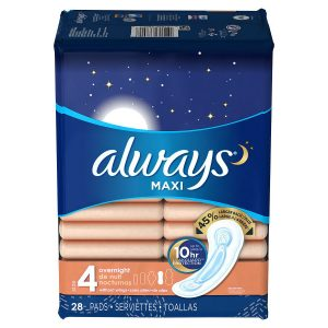 always-maxi-size-4-overnight-pads-without-wings-unscented